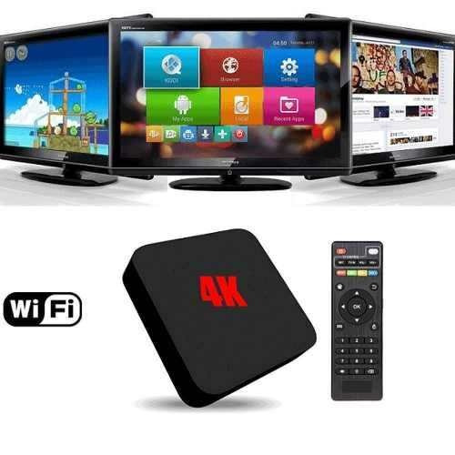 tv box smart hdmi 4k android wi-fi youtube netflix internet