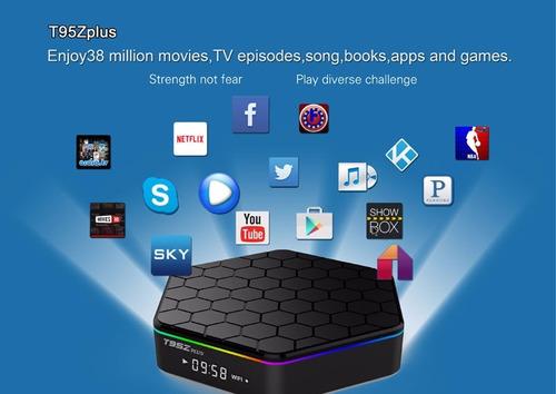 tv box smart t95z plus android 6.0  wifi 32gb+3gb+hdmi+contr
