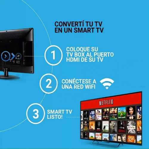 tv box smart tv android 7.1 convertidor smart tv