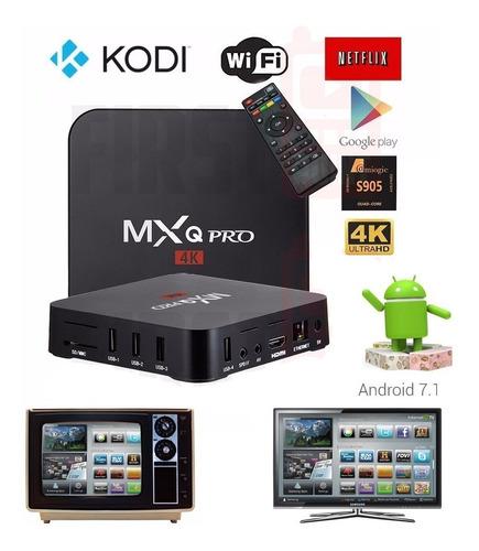 tv box smart tv android 7.1 convertidor smart tv hdmi usb rc
