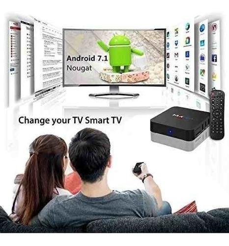 tv box smart tv android navega internet  redes social rt106