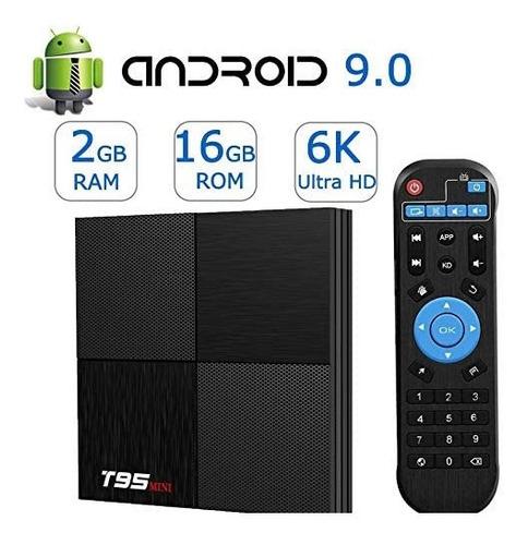 tv box t95 mini, android 9.0, 2gb ram 16gb rom, super oferta