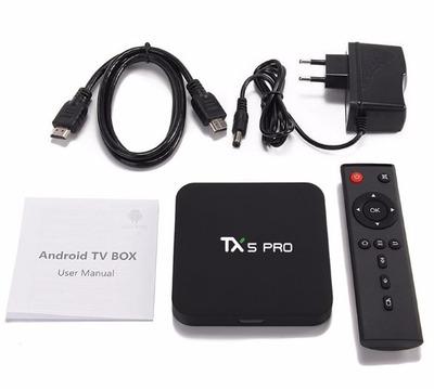 tv box tanix tx5 pro s905x android 6.0