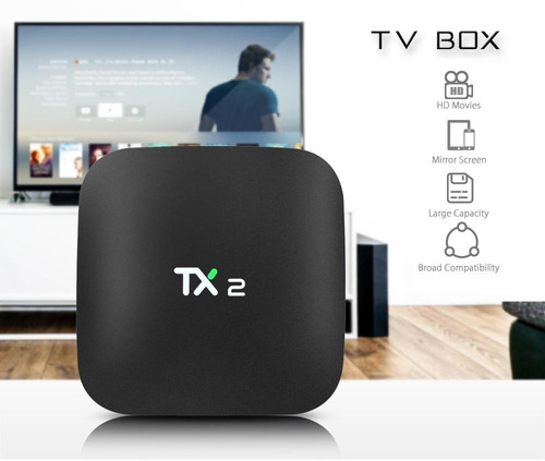 tv box tx2 2gb ram + 16gb potente android