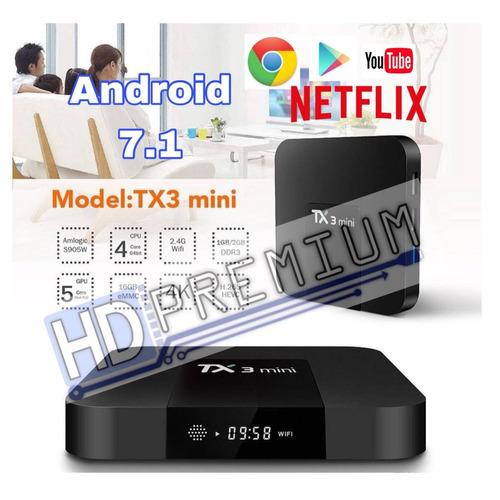 tv box  tx3  2gb 16 gb interna android 7.1