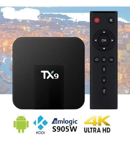 tv box tx9 2gb ram + 16gb potente androit