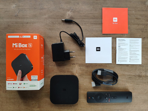 tv box xiaomi mi box s ultimo modelo 4k hd - otec