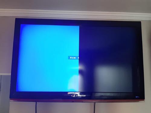 tv buster lcd 42 polegadas - tela com defeito