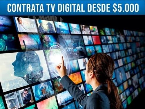 tv canales, películas y series