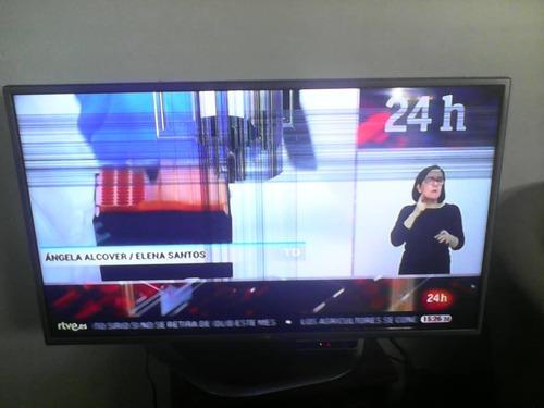 tv cinema lg 42, 3d  led  130 verde imagen con raya