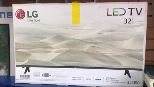 tv de 32 led lg hdmi usb traído de usa nuevo tienda garantia