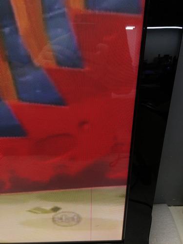 tv de plasma samsung com linha na imagem pl42a450