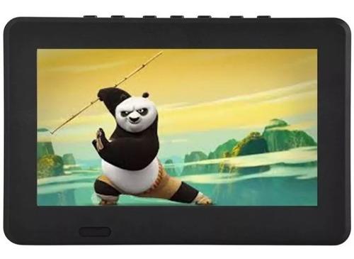 tv digital full hd portátil 7  polegadas!!! com bateria de 1