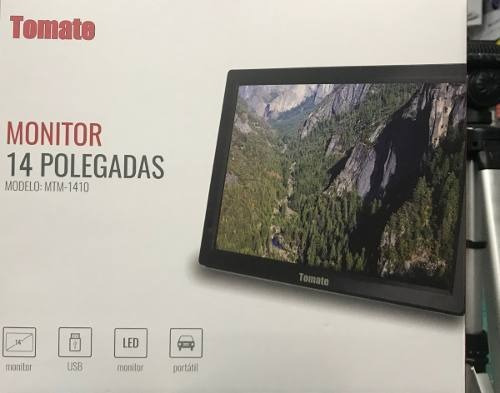 tv digital monitor 14 polegadas tomate mtm 1410