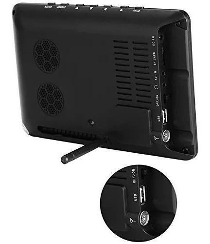 tv digital / monitor led 9 colorido modelo mtm-909 tomate