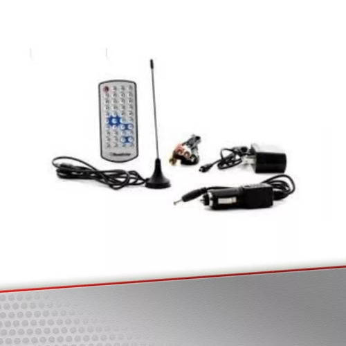 tv digital portatil lcd 7¨ roadstar rs-788isdb frete grátis