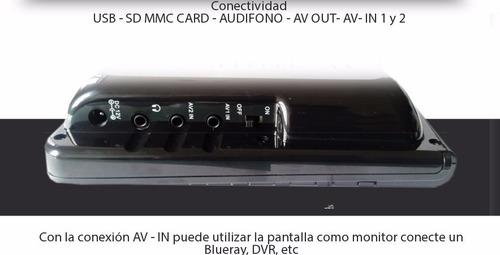 tv digital portatil pantalla lcd 7 usb envio gratis sc195