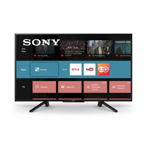 tv full hd hdr smarttv led sony kdl-43w665f 43  x-reality pr