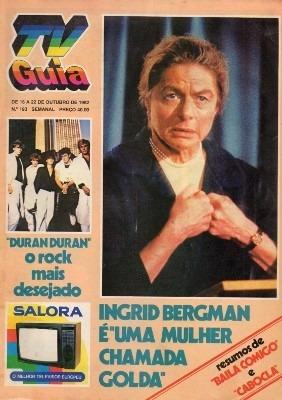 tv guia 1982 ingrid bergman fabio jr duran duran cabocla