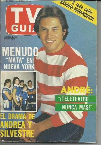 tv guia / n° 1106 / 1984 / andrea y silvestre / hugo moser