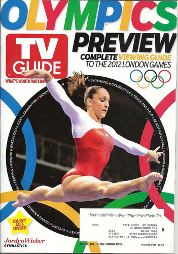 tv guide: jordyn wieber / ginastas / sasha alexander