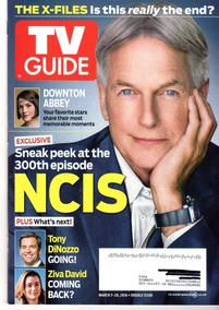 Tv Guide: Mark Harmon / Charlie Cox / Downton Abbey / Mazar