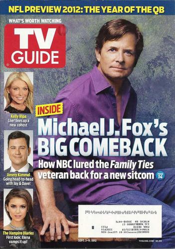 tv guide: michael j. fox / joe jonas / michael strahan