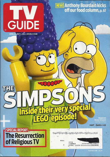 tv guide: the simpsons / carly chaikin / carrie browns