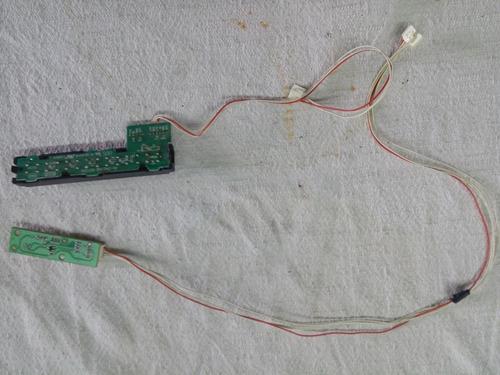tv james (repuesto) botonera, receptor modelo  led 24 t352