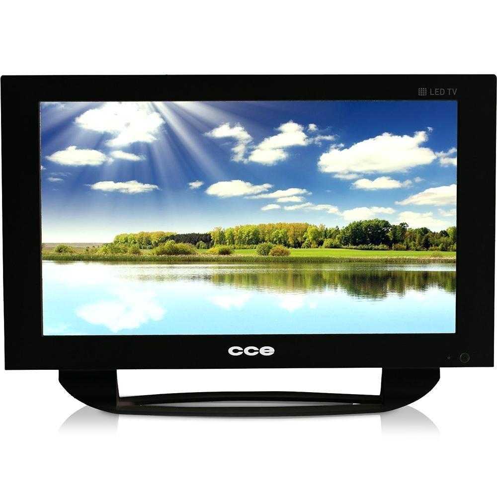 1be92a599 Tv Led 14 Hd Cce Ln14g Com Conversor Digital Com Usb - R  399