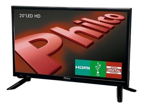tv led 20  philco ph20m91d dtv surround função guide