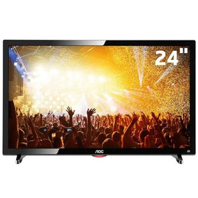 04f7b79d3a6 Tv Led 24 Hd Aoc Le24d1461 Com Conversor Digital Integrado