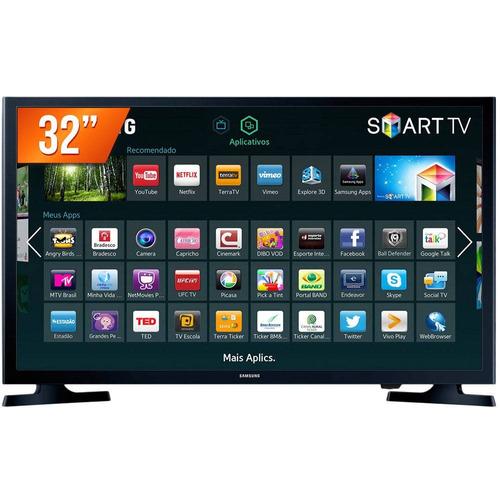 tv led 32 samsung hg32ne595jgxzd smart tv com conversor