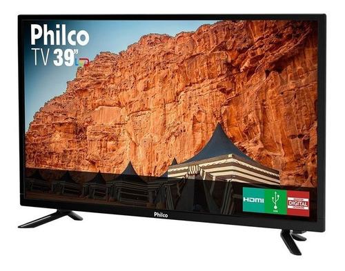 tv led 39 polegadas philco hd com conversor digital 3 hdmi