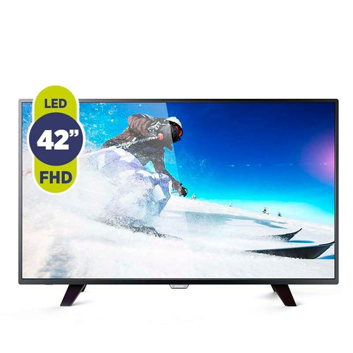 tv led 42 philips 42pfg5011/77 slim crystal clear