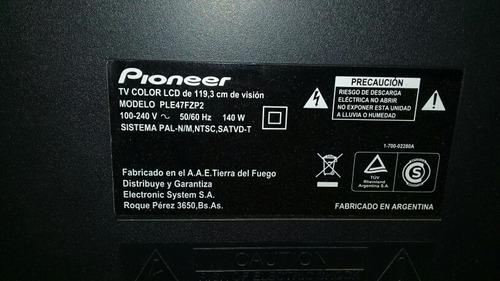 tv led 47 pioneer ple47fzp2.funcionando .