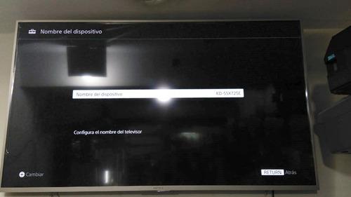 tv led 4k sony 55 smart tv ultra hd kd-55x725e