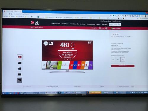 tv led 55  lg ultra hd 4k tv   55uj6545!!!