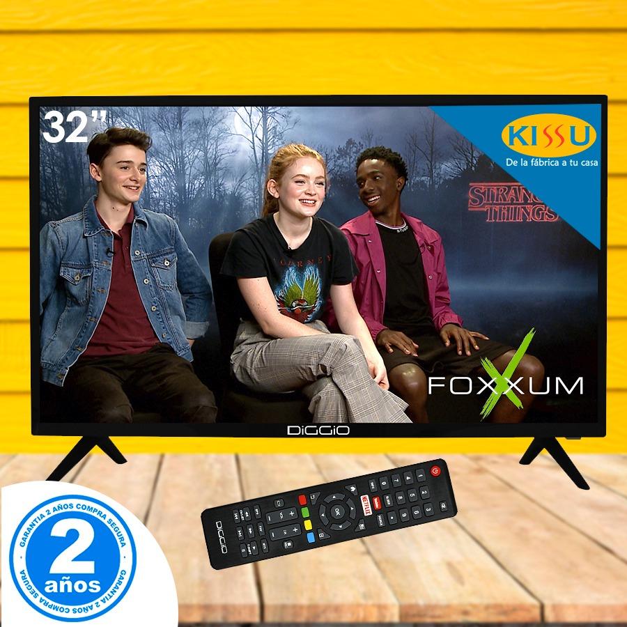 Tv Led Diggio 32 Smart Linux Full Hd Wifi Soporte