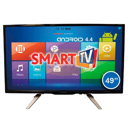 tv led diggio 49 smart android hd wifi antena soporte pared