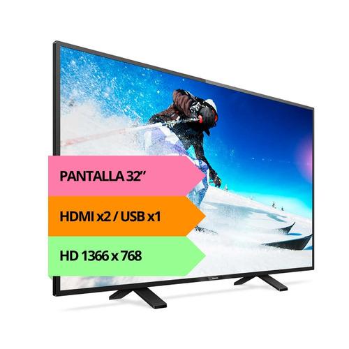 tv led hd philips 32 32phg5101 tda usb garantia oficial