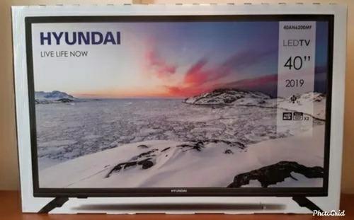 tv led hyundai de 40 led hd 2019 nuevo ah estrenar