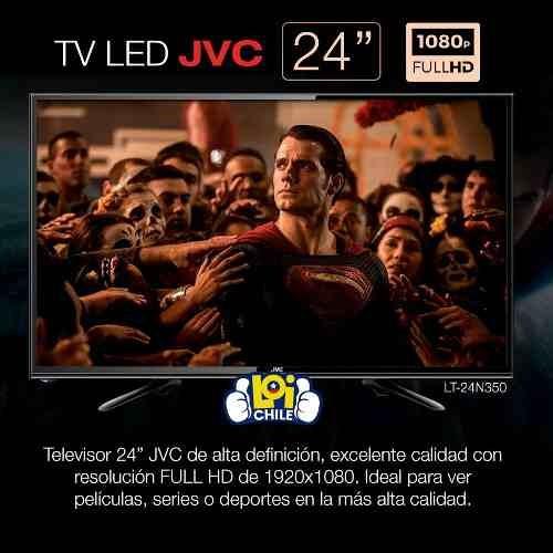 tv led jvc 24   hd isdbt 1 año gtia envio gratis / loi