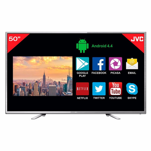 tv led jvc smart 50 full hd 3 años gtia envio gratis / loi