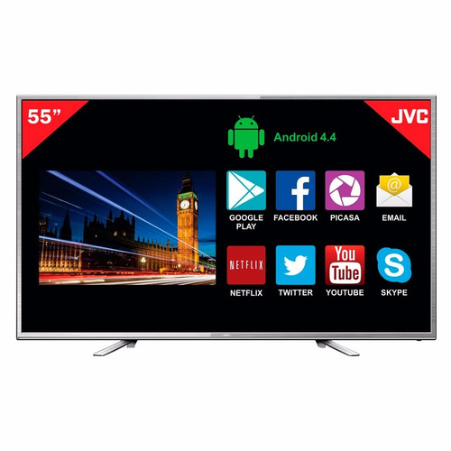 tv led jvc smart 55 full hd 3 años gtia envio gratis / loi