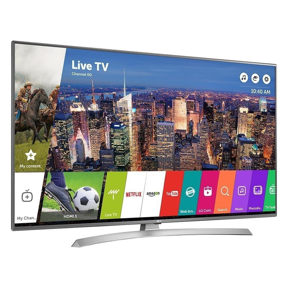 070acbdc8c533 Tv Led Lg 55 Uj6580 4k Ultra Hd Ips Netflix Wifi Hdr Magic ...