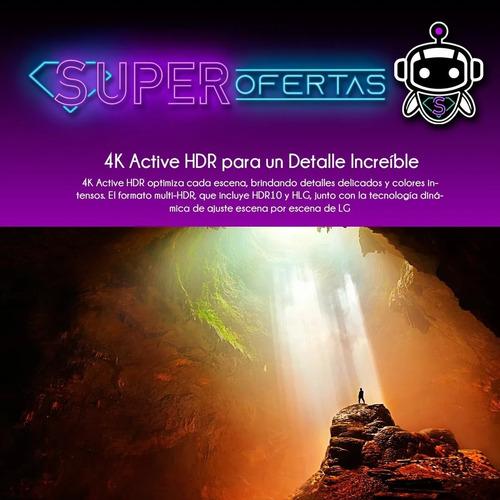 tv led lg 65 4k 65um6950 - ultra hd + soporte p a r e d !!!