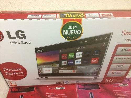 tv led lg smart tv 50  modelo lb6100