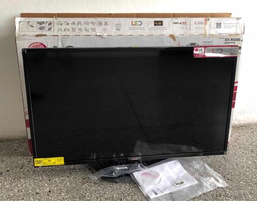 tv led marca lg 42 pulg serie ln5300us como nuevo - $270