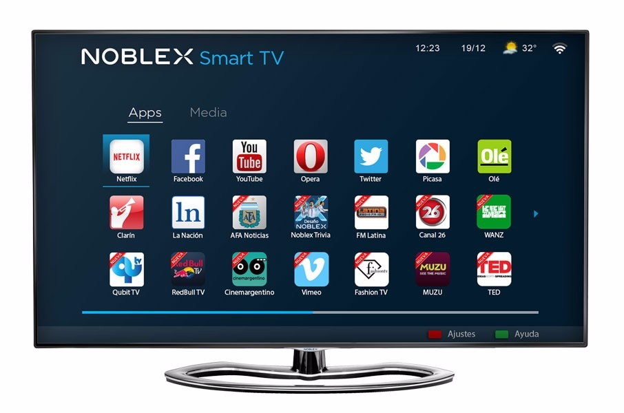 68afd60d7 tv led noblex 50¨ 4k ultra hd smart 3d 50lduhdtin. Cargando zoom.